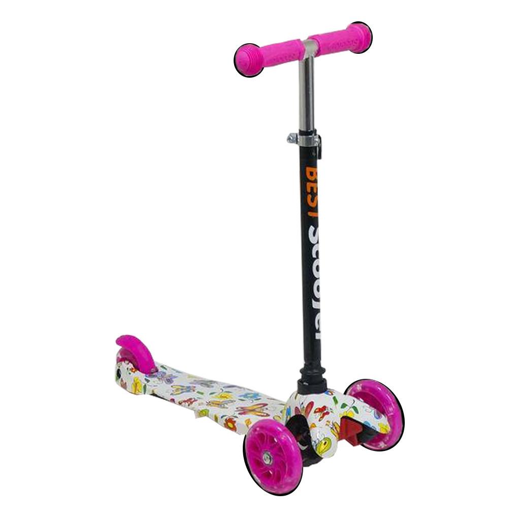 Самокат Best Scooter 1296 Розовый Mini 54662