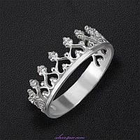 Кольцо-корона в Украине. Сравнить цены 71b5affec136a