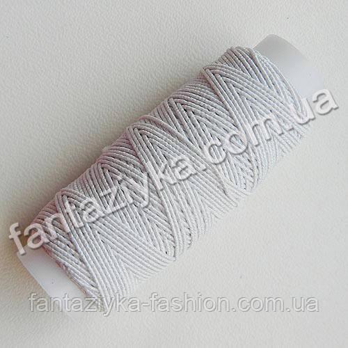 Спандекс, резиновая нить белая