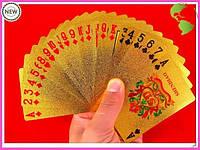 Карты игральные покерные 500 Евро золото
