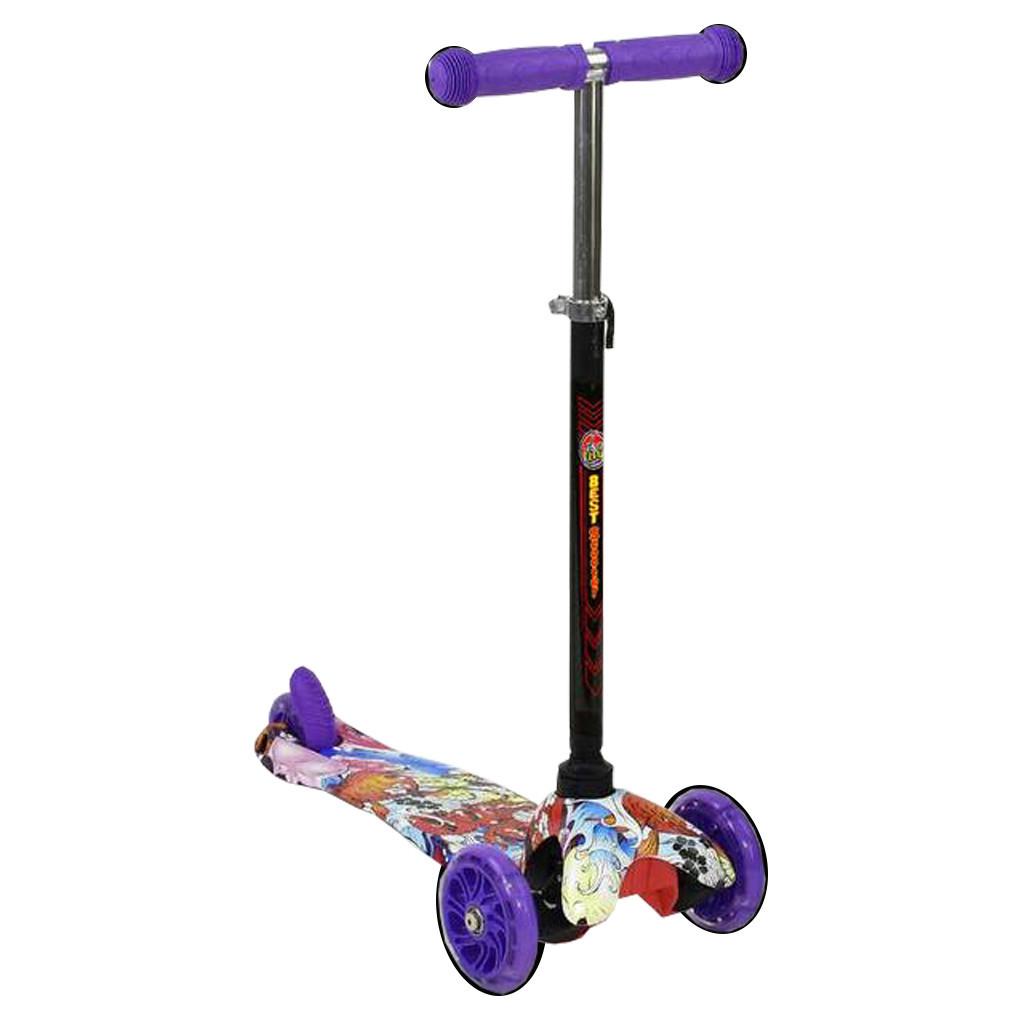 Самокат Best Scooter А 24696 Фиолетовый Mini 63869