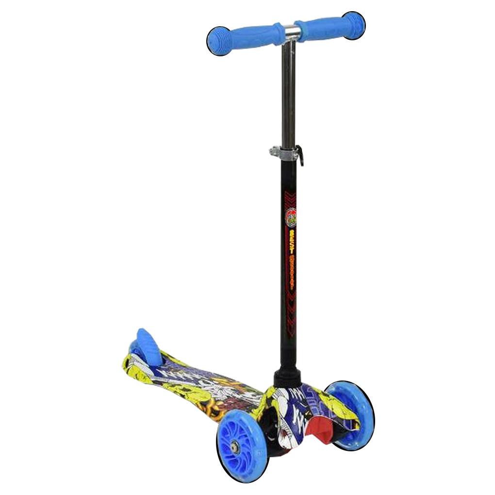 Самокат Best Scooter А 24701 Голубой Mini 63874