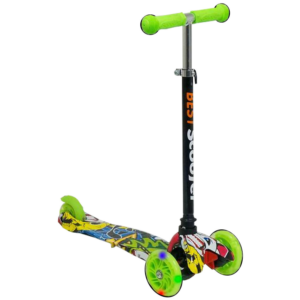 Самокат Best Scooter А 24702 1293 Салатовый Mini 63875