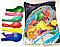 """Шары надувные """"С днём свадьбы"""", разноцветные, Gemar Ballons, G90, пастель,100шт"""