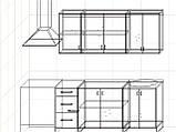 "Кухня ""Модерн"" длина 1,8 м - вариант №2, фото 3"