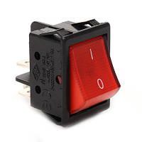 A14K Выключатель с подсветкой прямоугольный красный