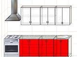 "Кухня ""Модерн"" длина 2,0 м - вариант №1, фото 2"