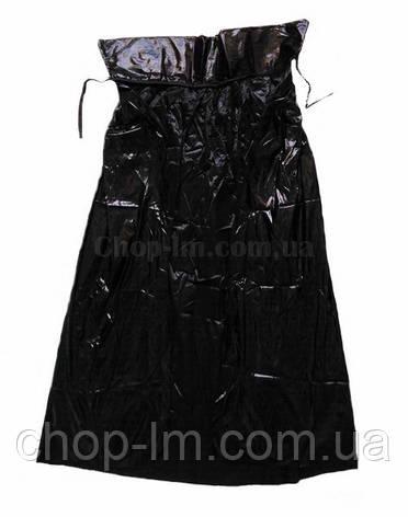 Карнавальний плащ - накидка (чорний) Парча, фото 2