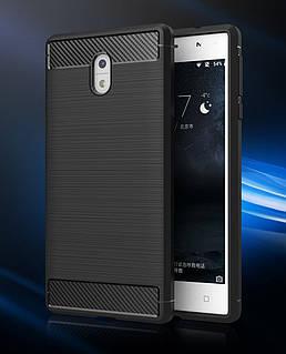 Чохол PRIMO Carbon Fiber для Nokia Series 3 - Black