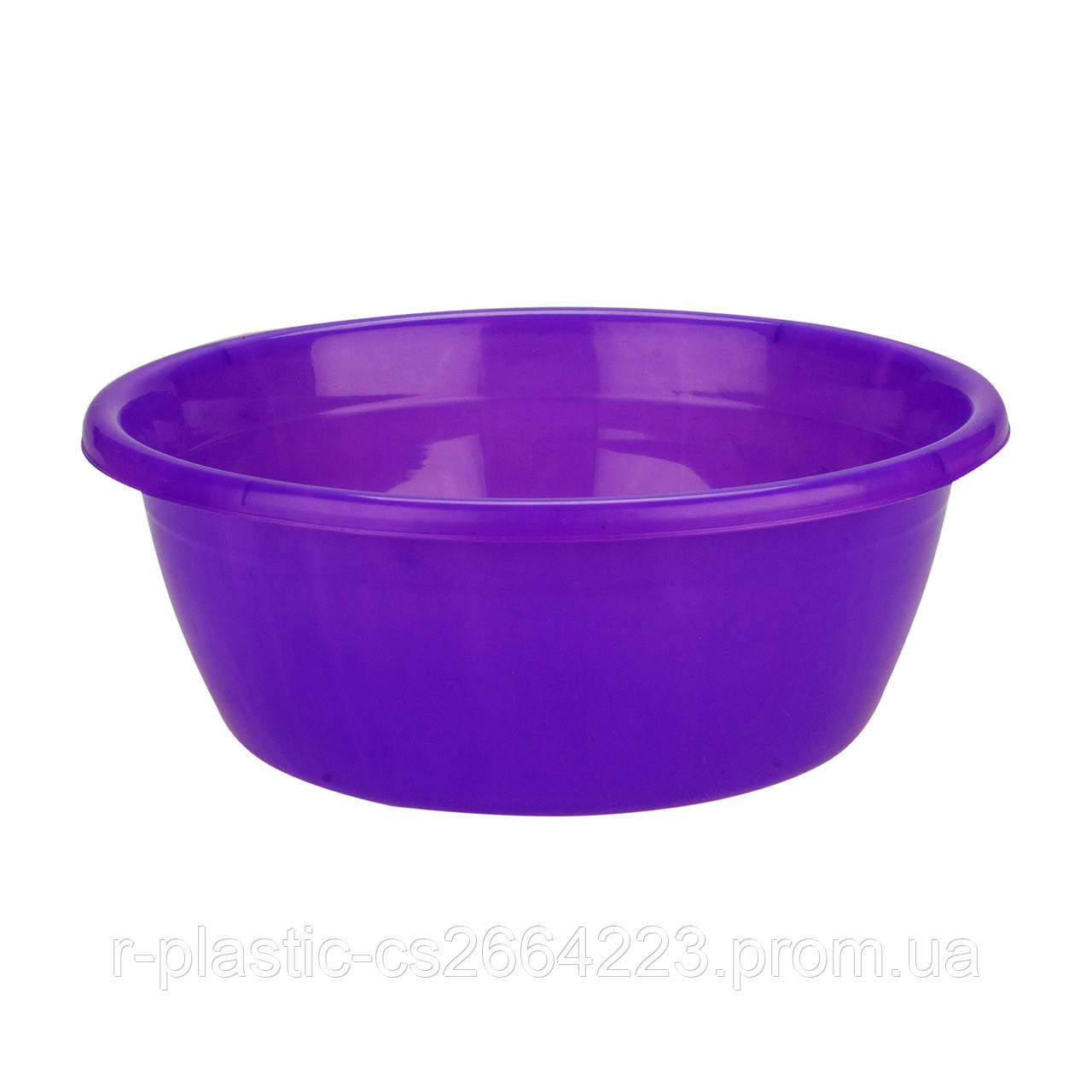 Миска R-Plastic цветная 10л фиолетовая