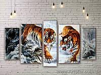 Модульные картины с животными, Art. ANIM777041