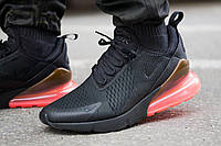 Мужские кроссовки Nike Air Max 270 Black Read