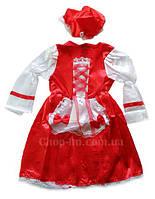 """Новогоднее платье """"Красная шапочка"""", карнавальный костюм"""