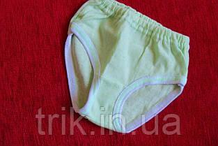 Комплект нижнего белья для девочки хлопковый цвет оливковый полотно мультирип, фото 2