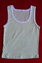 Комплект нижнего белья для девочки хлопковый цвет оливковый полотно мультирип, фото 3