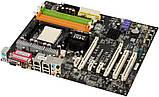 Плата под AMD sam2 MSI K9A SLI PLATINUM ПОНИМАЕТ ВСЕ 2 ЯДРА ПРОЦЫ Athlon X2 125W до 6400+ sam2 c ГАРАНТИЕЙ, фото 2