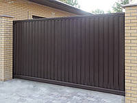 Сдвижные ворота DoorHan 4000 х 2100