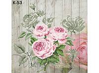 СКВ-181. Схема для вишивки бісером Чайні троянди 5efa4744db364