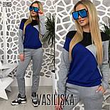 Женский стильный спортивный костюм: свитшот и брюки (4 цвета), фото 3