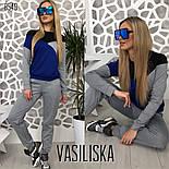 Женский стильный спортивный костюм: свитшот и брюки (4 цвета), фото 4