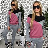 Женский стильный спортивный костюм: свитшот и брюки (4 цвета), фото 7