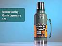 Термос туристический питьевой Stanley Legendary Classic (1.9л), зеленый, фото 6