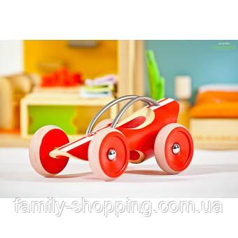 """Деревянная игрушка машинка из бамбука """"E-Racer Monza"""""""