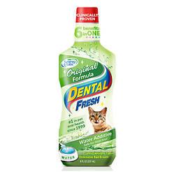 SynergyLabs СВЕЖЕСТЬ ЗУБОВ (Dental Fresh Cat) жидкость от зубного налета и запаха из пасти кошек 0,237мл