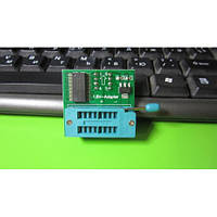 Адаптер колодка для программатора 1.8V SOP8 DIP8 W25 SPI MX25