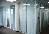 Металлопластиковые офисные перегородки