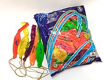 """Шары надувные """"Арбуз"""" неон, Gemar Ballons GPBFD1/45см, упаковка50шт."""