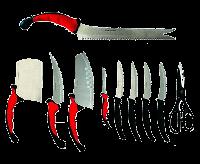 Кухонные ножи Contour Pro 10 штук