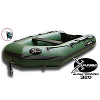 X-PLODER ALPHA TROOPER 320 FISHING BOAT INFLATABLE