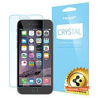 Защитная пленка Spigen для iPhone 6s / 6 + поклейка в подарок