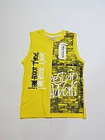 Подростковая футболка/майка для мальчиков Турция 158р 164р(полномер)