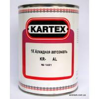 601 Чорний KARTEX Алкідна 1К емаль 0,8 л