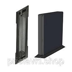 Playstation 4 Slim вертикальная подставка черная