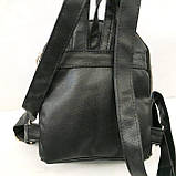 Рюкзаки с паетками и стразами (синий 2хсторон)26*30, фото 9