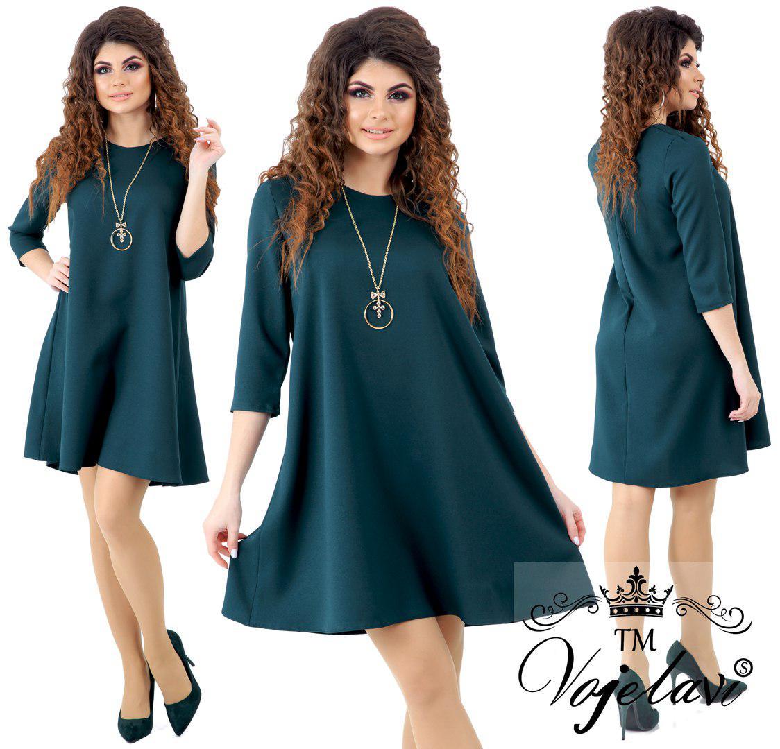 33edf463983 Красивое женское платье свободного кроя(4 расцв)  продажа