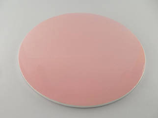 Подложка для торта розовая с закрытым торцом d 30 см (усиленная)