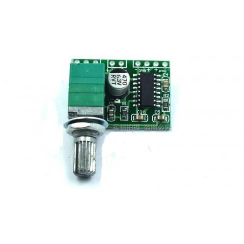 Усилитель GF1002 PAM8403 2х3W 5V с регулятором громкости