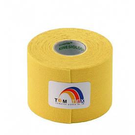 Кинезио тейп TemTex 5смх 5м (Желтый)