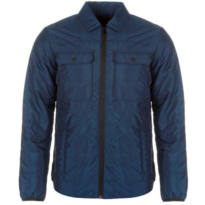 Мужская стеганая куртка Only and Sons Elliot синяя оригинал