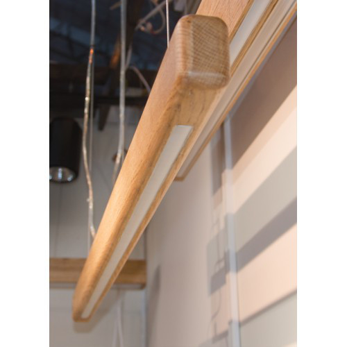 """Світлодіодний світильник лінійний в дерев'яному корпусі """"RAFTER"""" 30W 2850Lm VL-LED 30W R WOOD"""