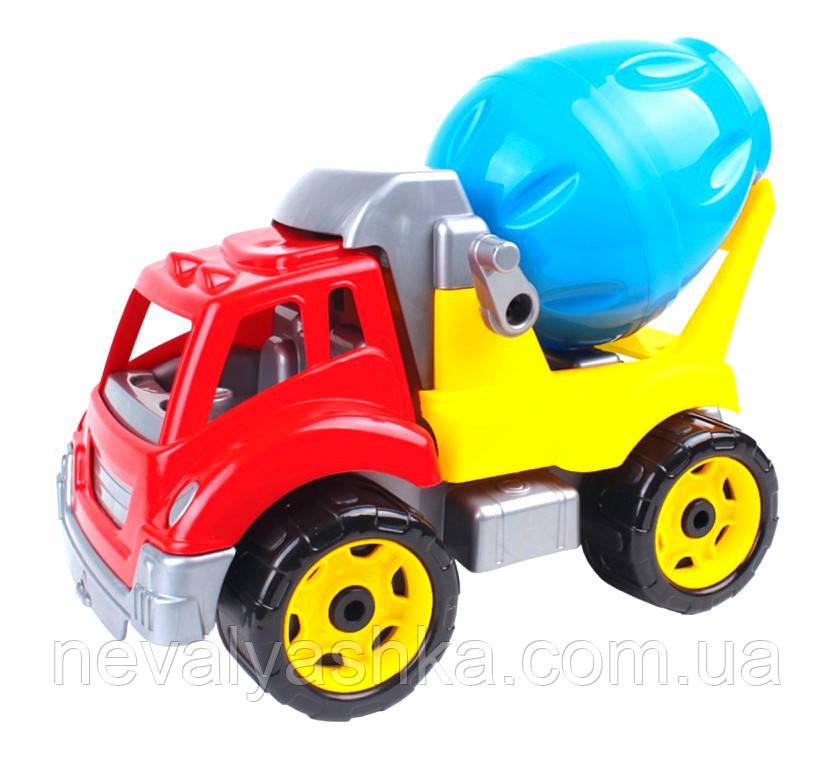 Машинка Автомиксер Бетономешалка ТехноК, пластик бетономішалка автоміксер, 3718, 006989
