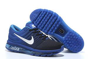 Кроссовки Nike Air Max 2017 Royal Blue Black