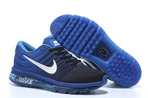 Кроссовки Nike Air Max 2017 Royal Blue Black