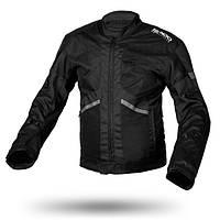 Ispido ZINC Black, XS Мотокуртка текстильная летняя