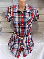 Рубашка женская лето Китай 7оптом