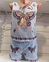 Женский спортивный костюм лето Китай оптом